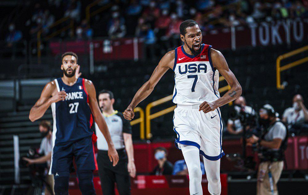 La Team USA remporte sans surprise sa quatrième médaille d'or olympique en battant la France en finale