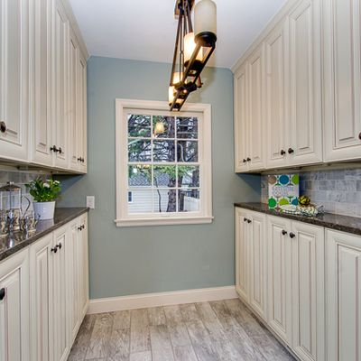 Six Steps to paint your Boring Wholesale Kitchen Cabinets