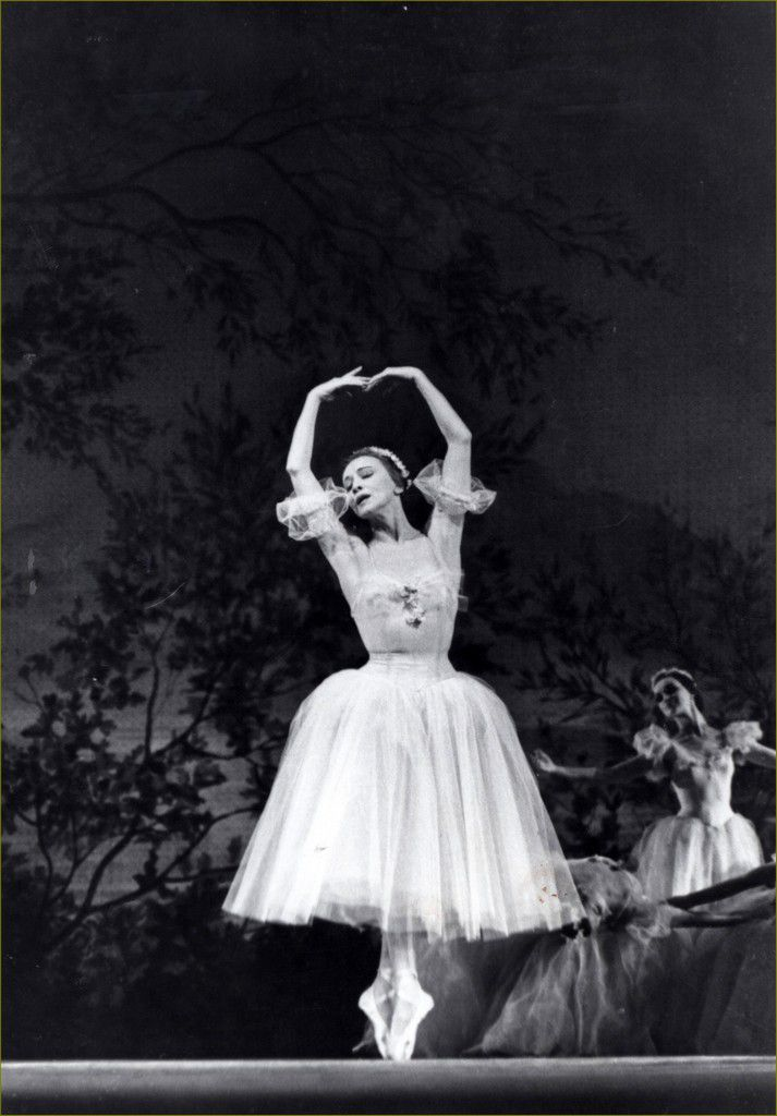 retro - Galina Ulanova - Les Sylphides