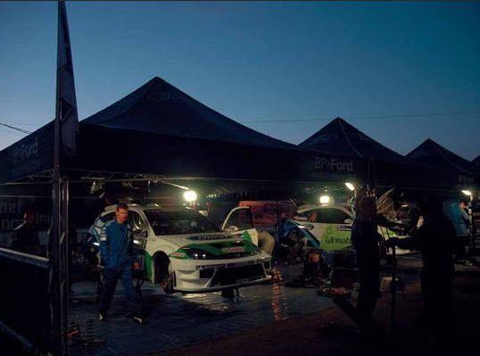 Luis Pérez Companc en el Rally de África