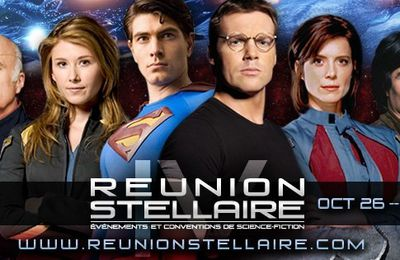 SUPERMAN, DR JACKSON (Stargate), APOLLO (Galactica) présents...