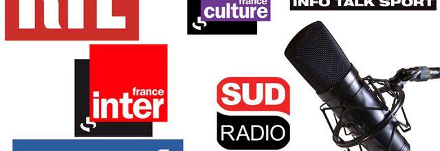 La liste des invités radio du mardi 7 juillet 2020
