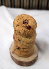 Cookies aux cranberries et flocons d'avoine, sur les traces de Christophe Michalak et Terraillon