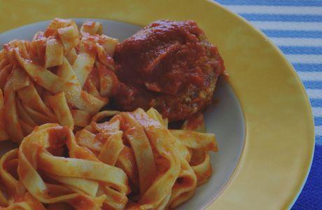 Les Boulettes et sa sauce tomate