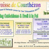 6_Planning KT_1er trimestre 2017/2018 - Ecole Notre-Dame Courthezon