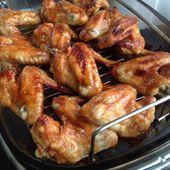 ailes de poulet grillées sauce barbecue - mes recettes omnicuiseur