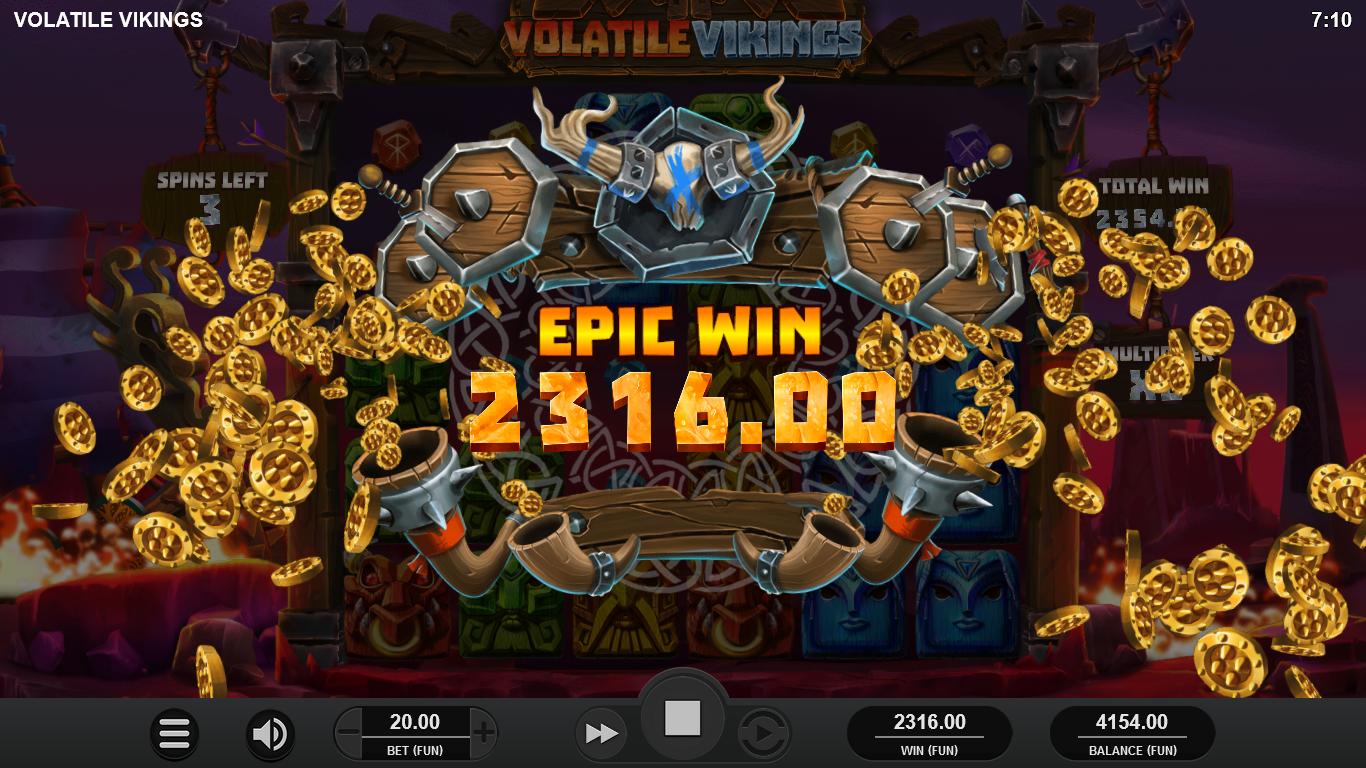 machine à sous en ligne Volatile Vikings tours gratuits