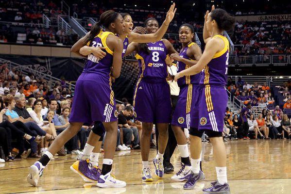 WNBA: Victoire collective de Los Angeles Sparks