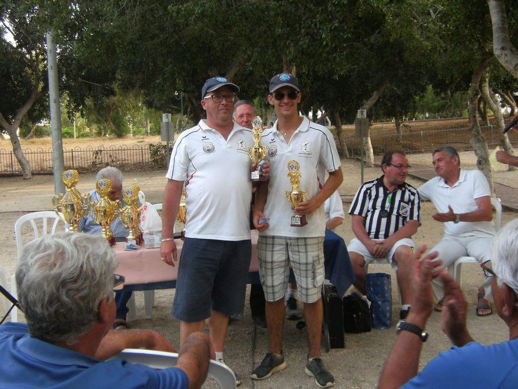 TOURNOI de la MEDITERRANEE à ASHDOD (ISRAËL): Belle prestation des EDUCNAUTIENS et de l'ESPAGNE