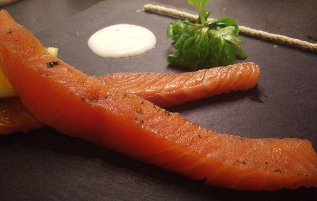 Le saumon Gravlax