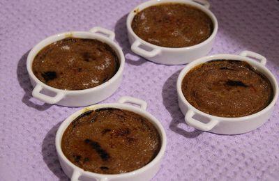 Petites crèmes brûlées aux cèpes