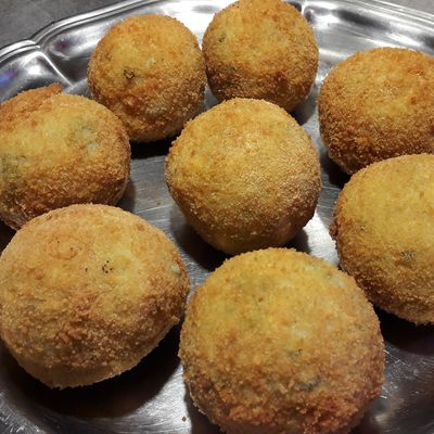 Arancinis au fromage