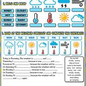The weather activity