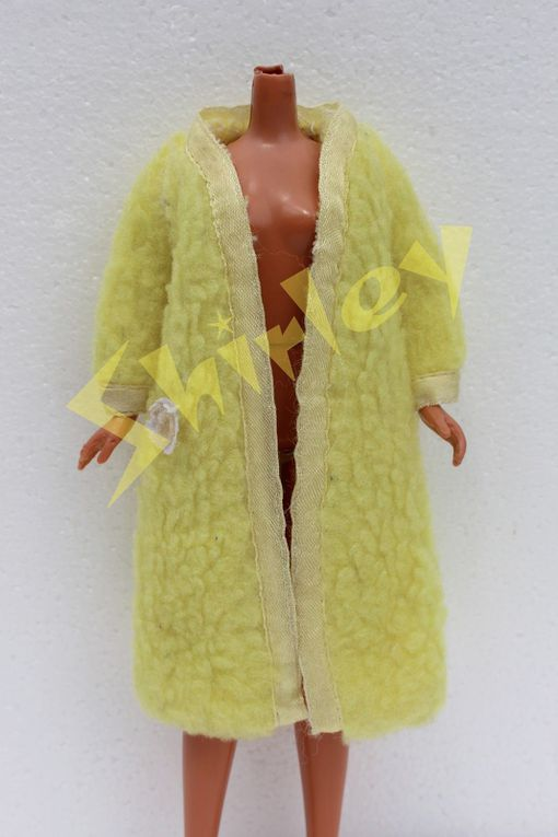 """LEMON FLUFF"" FOR SKIPPER DOLL 1970 MATTEL #1749"