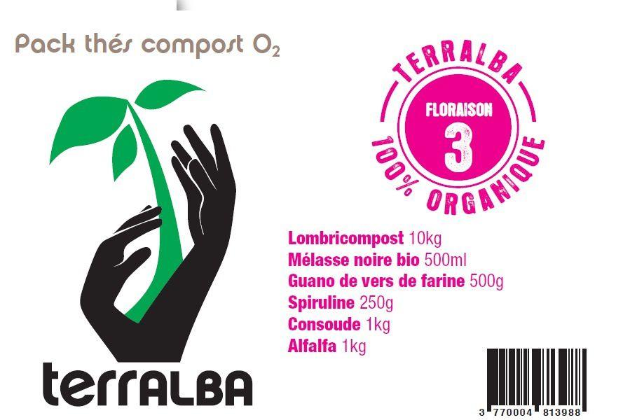 Packs complets cultures potagères, pour faire vos propres thés de compost oxygénés