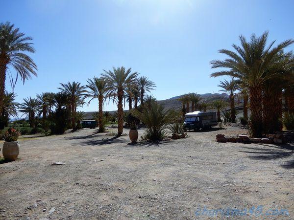 Camping à la ferme Tansift, Agdz (Maroc en camping-car)