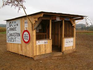 Pour comprendre l'action, n'hésitez pas à visiter la cabane !