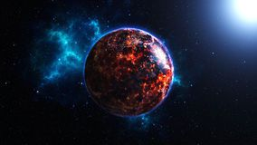 La planète de feu
