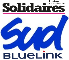 SUD Aérien Solidaires BLUELINK