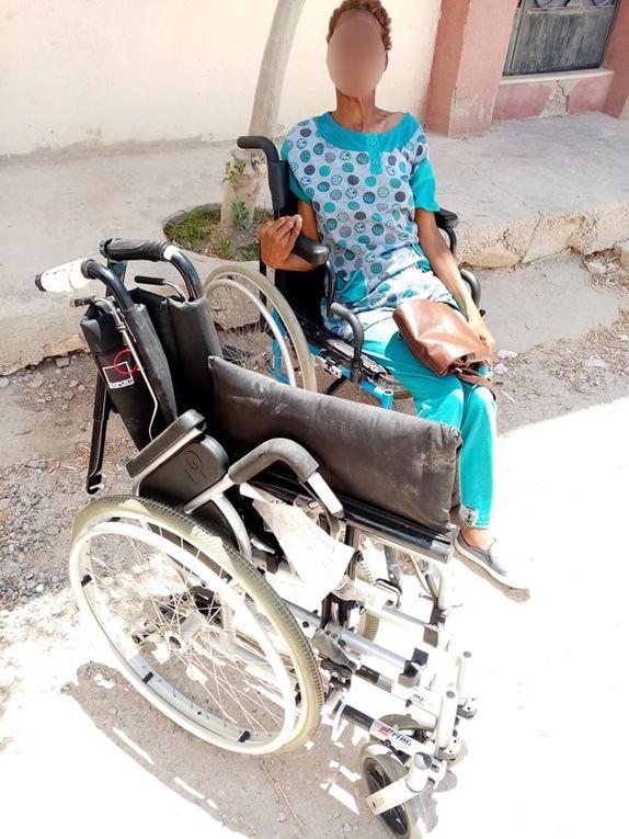 15062021- Distribution des fauteuils roulants aux personnes handicapées de Gabes