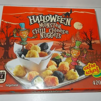 Lidl Halloween Monster Chili Cheese Nuggets