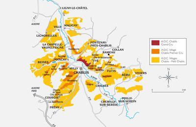 Chablis Premier Cru: les Côtes de Beine et Poinchy