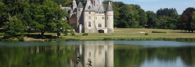 La Verrerie, un château entre Berry et Sologne. (Cher)
