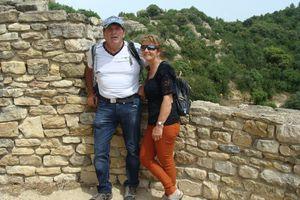 La forteresse de Mornas et  La Garde Adhémar