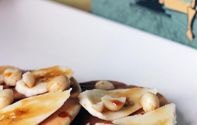 [ RECETTE FLUFFIE ] Macadamia & Fresh Banana Pancakes