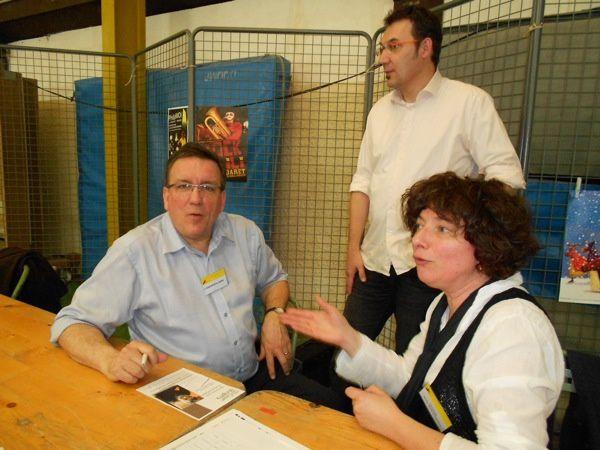 La Journée des métiers et de l'entreprise a eu lieu vendredi 23 mars 2012 au complexe du Coi à Saint-Jean-d'Angély (17400)