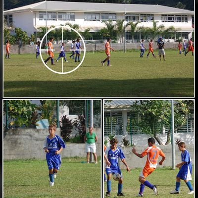 match de foot a Mahina