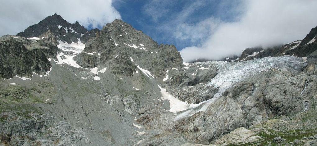 Pelvoux et Glacier blanc