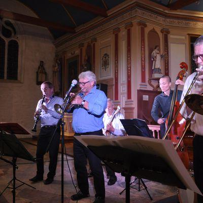 DIXIE JAZZ à la chapelle Notre Dame de Lorette.. des musiciens de haut niveau..
