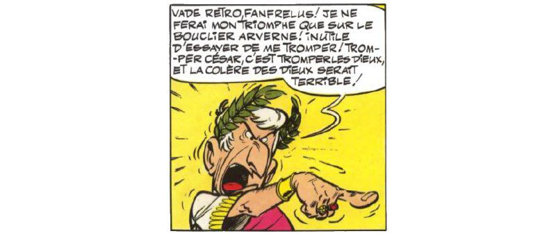 Le bouclier arverne - Goscinny & Uderzo