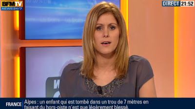 2013 01 04 - CAROLINE BAUER - BFM TV - WEEK-END 360 'SPORTS' @21H50