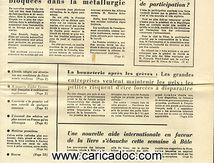 «Tandis que la grève quasi générale se poursuit les négociations entre patrons, syndicats et gouvernement s'avèrent fort difficiles», Les Echos le quotidien de l'économie, 27/5/1968.