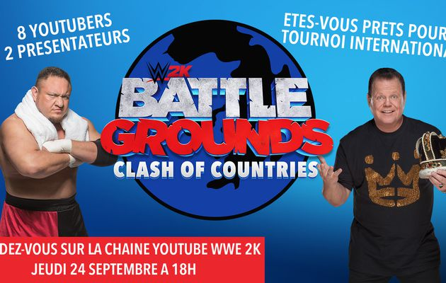 "[ACTUALITE]  WWE 2K Battlegrounds - Tournoi ""Clash of Countries"" Aujourd'hui à 18h"