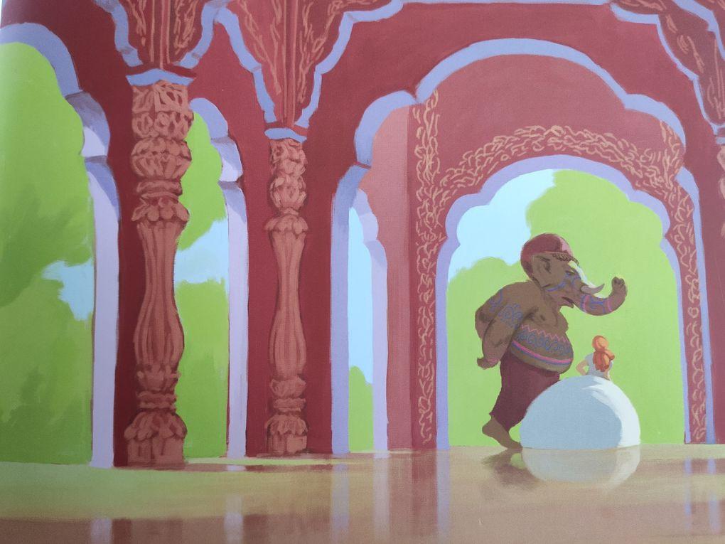 La Belle et Ganesh. La Luciole Masquée et Joël CIMMARRON – 2009 (Dès 6 ans)