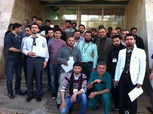 Nouvelle session de formation à la frontière syrienne
