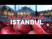 jus de grenade frais dans les rues d'istanbul عصير الرمان في شوارع إسطمبول