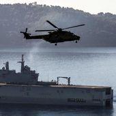"""Reportage à bord du """" Tonnerre """", """" couteau suisse """" de la marine nationale"""