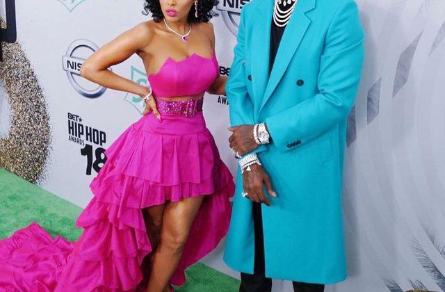 Gucci Mane et sa femme Keshia Kaoir ❤