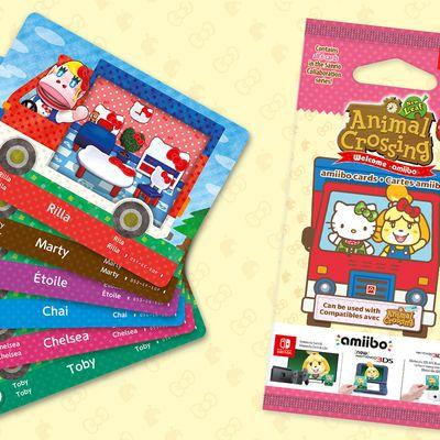Hello Kitty débarque sur Animal Crossing New Horizons