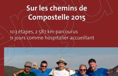Sur les chemins de Compostelle 2015 (Livre et e-book)
