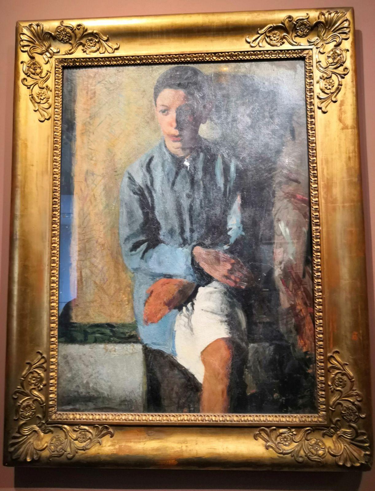 Mario Sironi (1885-1961), Portrait du frère Ettore, Vers 1910, Huile sur toile, Archivio Mario Sironi di Romana Sironi