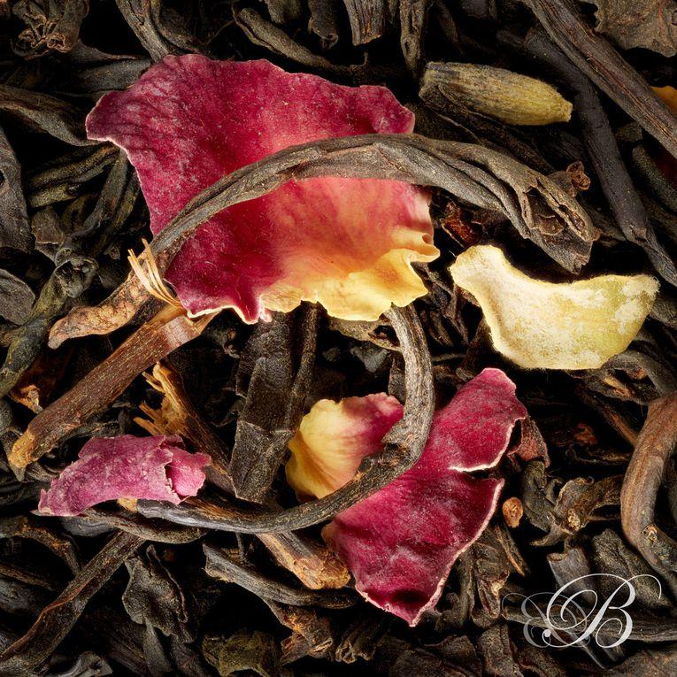 Les thés de printemps, avec des fleurs