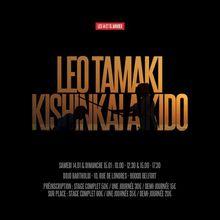 Léo Tamaki à Belfort, 14 et 15 janvier