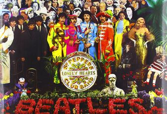 Musica in vinile:  Sgt Pepper's Lonely Hearts Club Band ( Registrazione originale rimasterizzata)