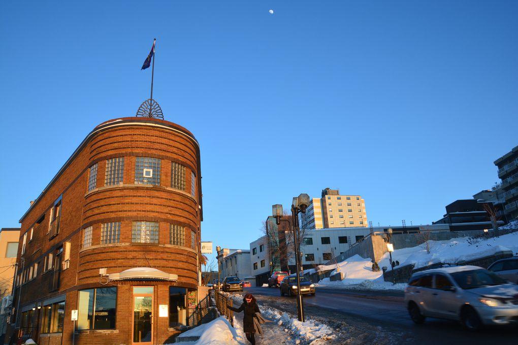 Saguenay au soleil couchant.