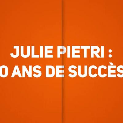 Julie Piétri célèbre 40 ans de succès sur TV Melody dès demain et jusqu'au vendredi 24 janvier